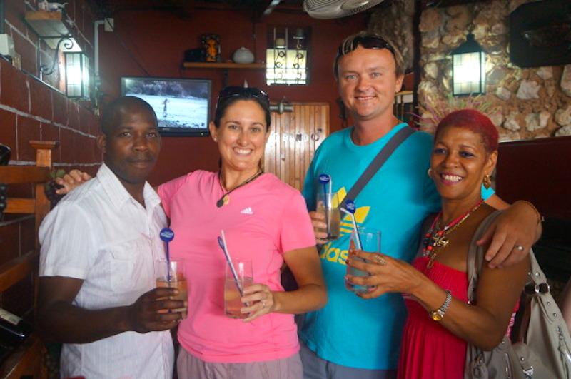 Interacting With The Locals In Havana Cuba