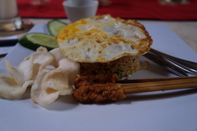 Eating in Bali