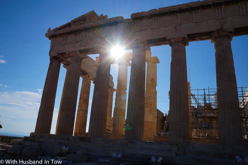 Climbing the Acropolis