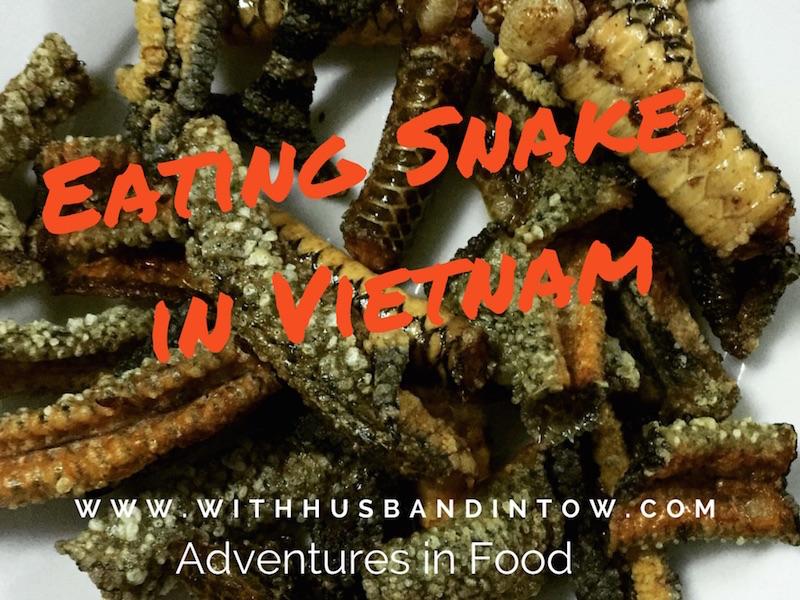 Eating Snake in Vietnam