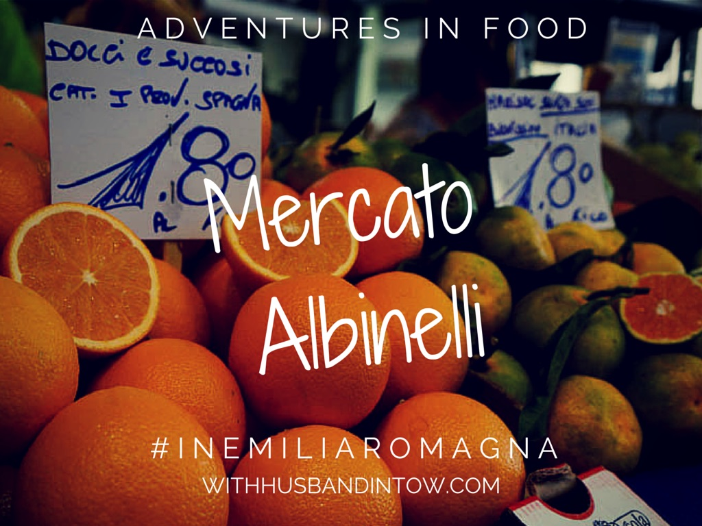 Shopping At Mercato Albinelli Food Market in Modena