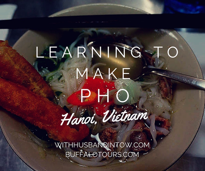 Learning How to Make Pho