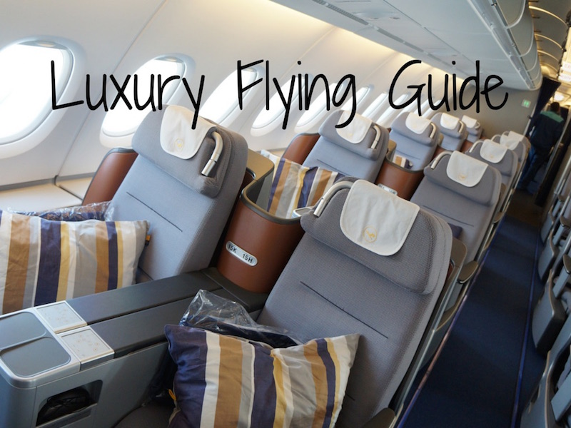 luxury flying guide