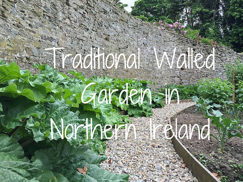 Exploring a Traditional Walled Garden in Northern Ireland