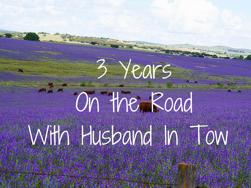 Three Years On The Road With Husband In Tow