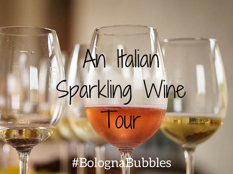 A tour of Italian Sparkling Wine and Bologna Bubbles