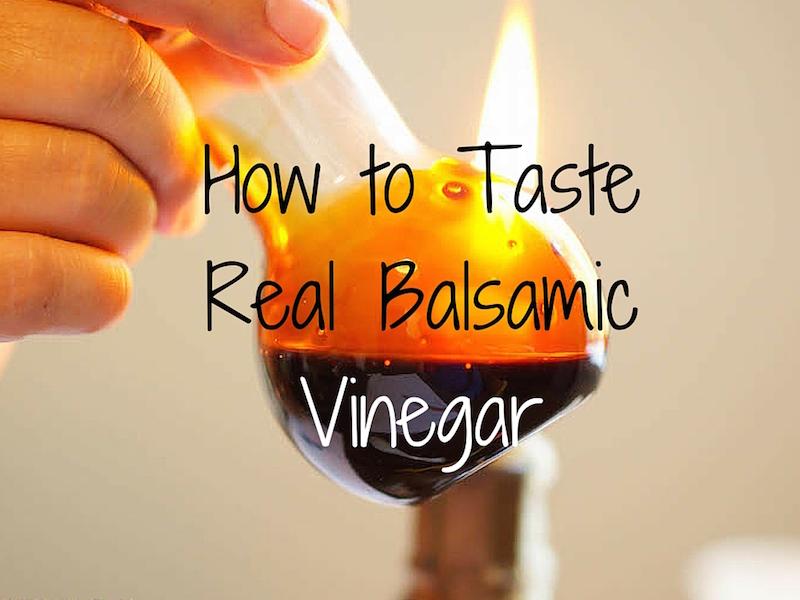 Tasting Balsamic Vinegar in Modena