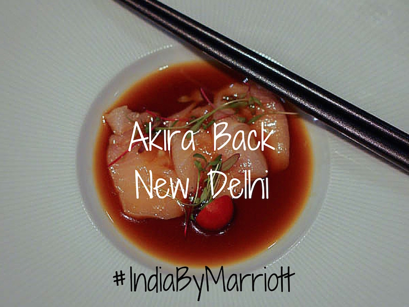 Akira Back New Delhi and Indian Wines