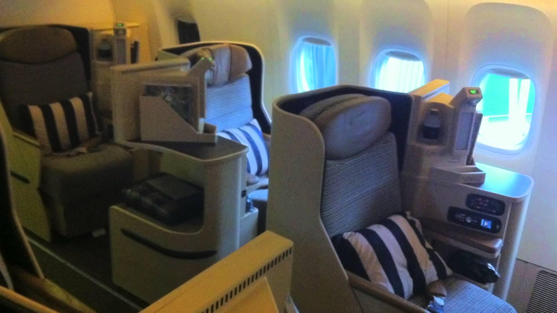 Etihad Business Class Dublin To Abu Dhabi 777 300er