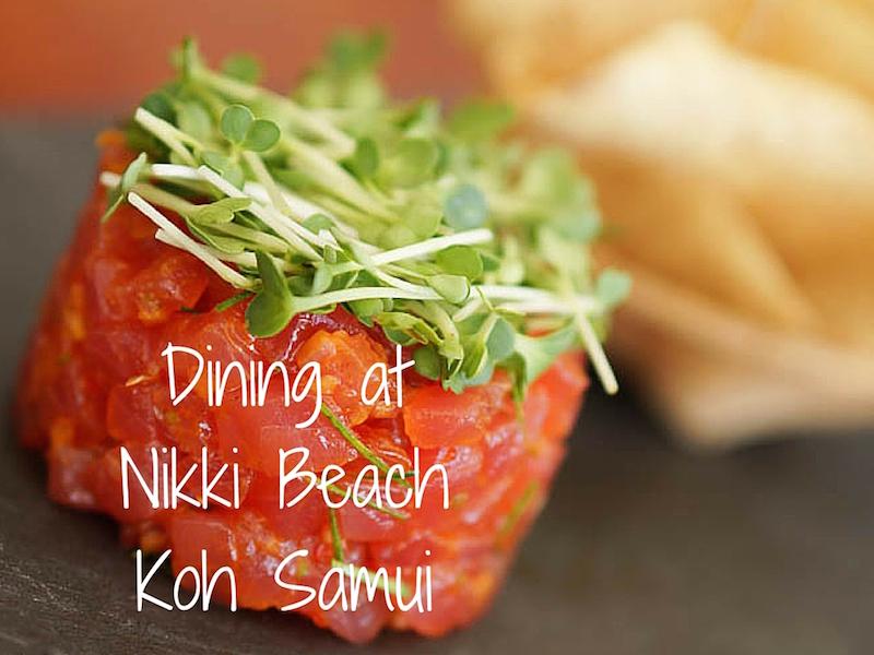 Nikki Beach Koh Samui – Dining With Chef Julian
