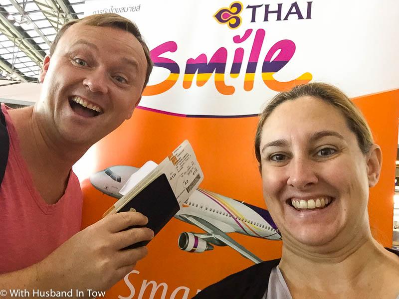 Our First Thai Smile Airways Flight