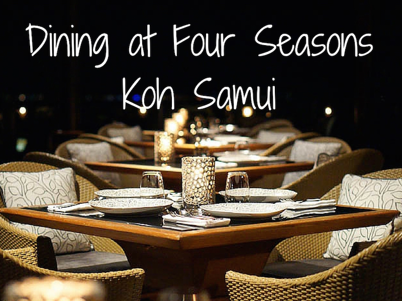 KOH Thai Kitchen – Four Seasons Koh Samui