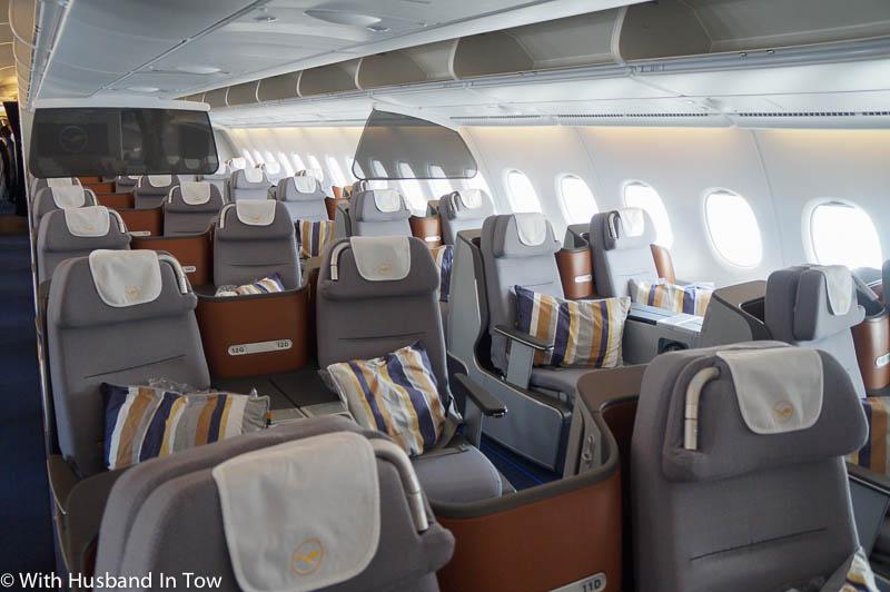 Lufthansa business class airbus a380 beijing to frankfurt for Motor club of america better business bureau