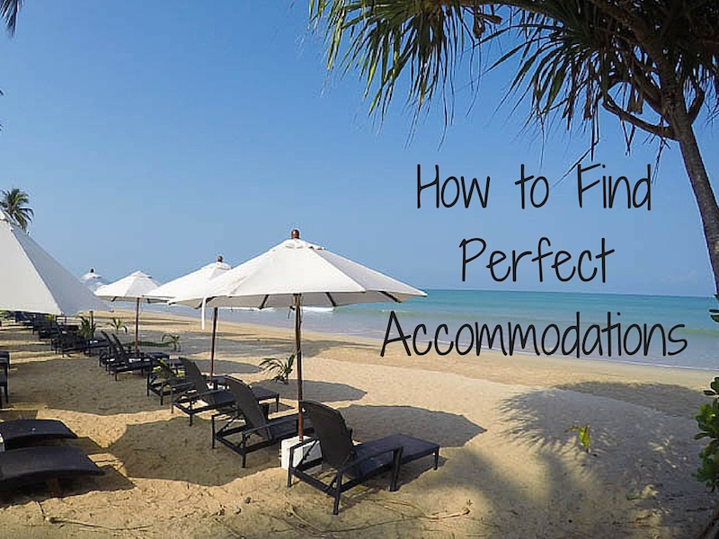 Travel Resources How to Book Accommodations
