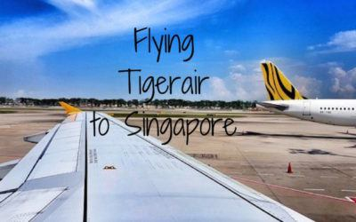Flying Tigerair to Singapore