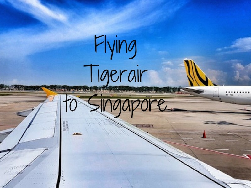 Flying Tigerair to Singapore