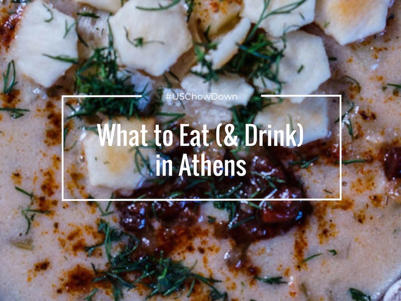 Where to Eat in Athens Georgia