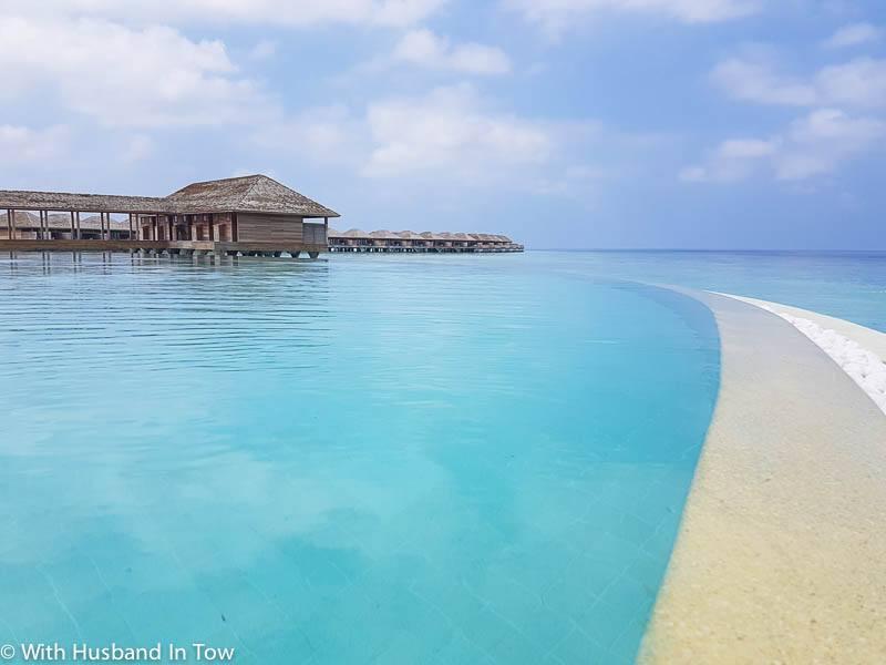 overwater villa the Maldives