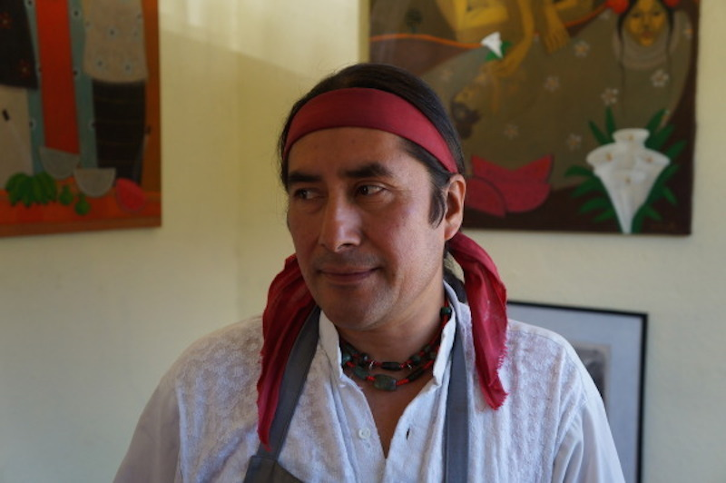 Personal Visit With Guatemalan Artist Carlos Chavez
