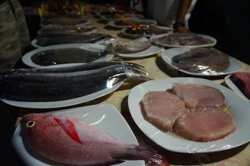 Fish on Gili Air