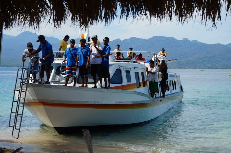 The Fast Boat To Gili - How To Get From Ubud To The Gili Islands