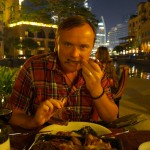 Eating out in Dubai