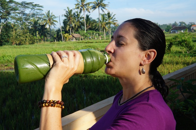 juice cleansing in Ubud