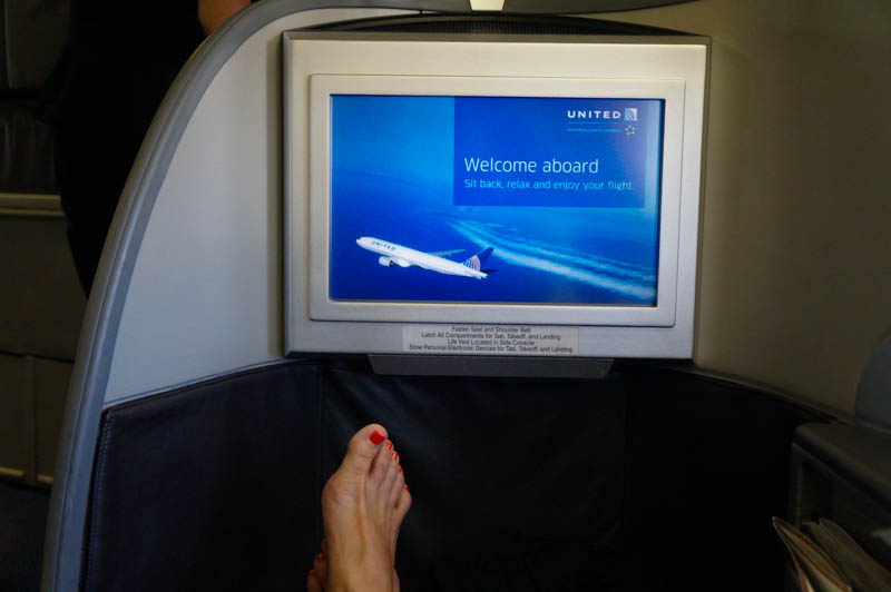 United Airlines Global First