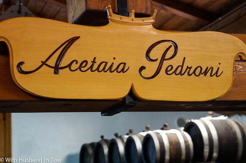 Acetaia Pedroni Balsamic Vinegar