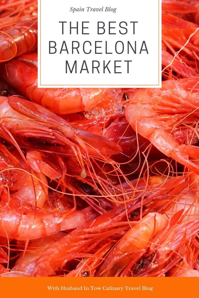 Santa Caterina market in Barcelona