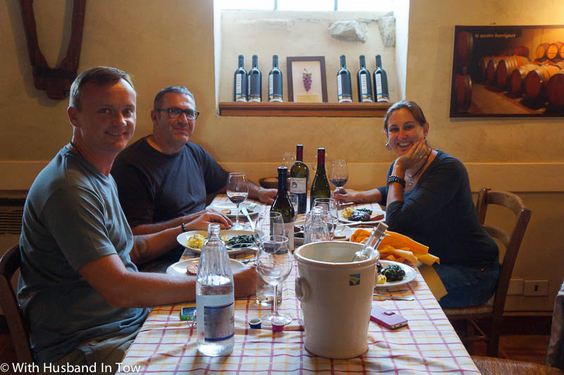 lunch with an Italian Winemaker