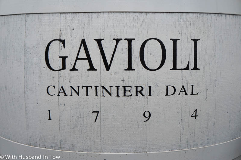 Touring Gavioli Wine Museum in Modena Italy
