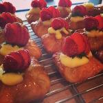 pastries at courtyard seminyak