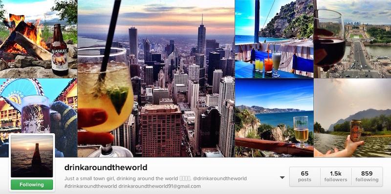 Drink Around the World Instagram
