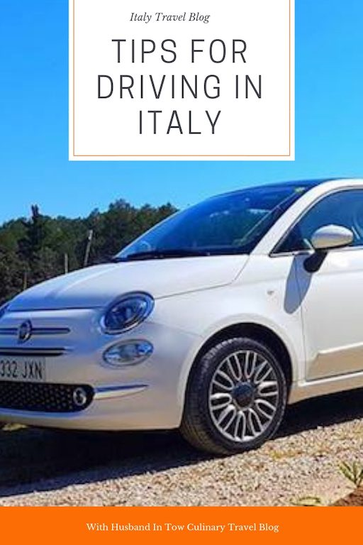 Driving in Italy Tips