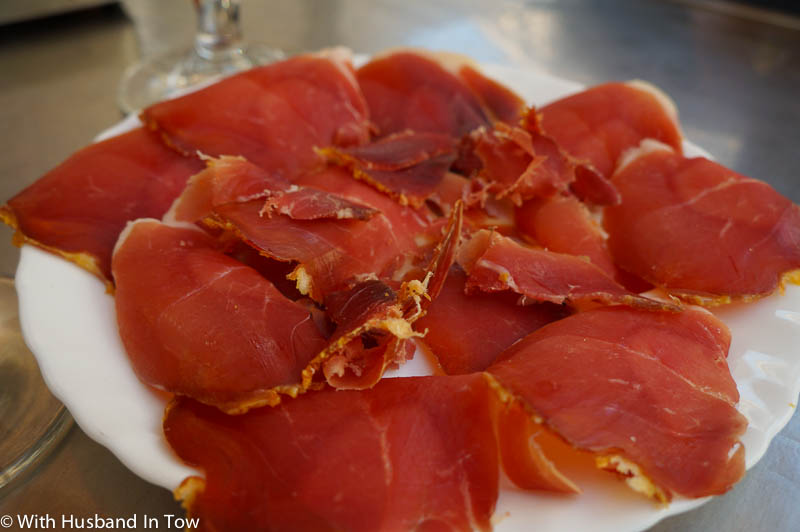 traditional Spanish food - jamon