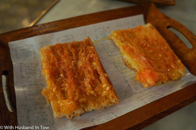 Catalan pa amb tomat