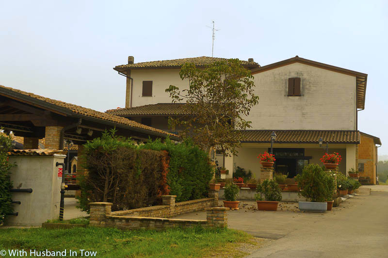 Staying at Agriturismo Le Casette in Emilia Romagna