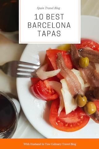 Barcelona Tapas Guide