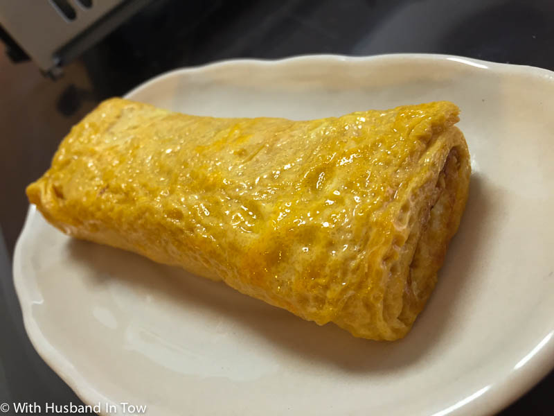 dashimaki Japanese omelet