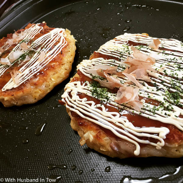 Okonomiyaki is a must eat food in Osaka