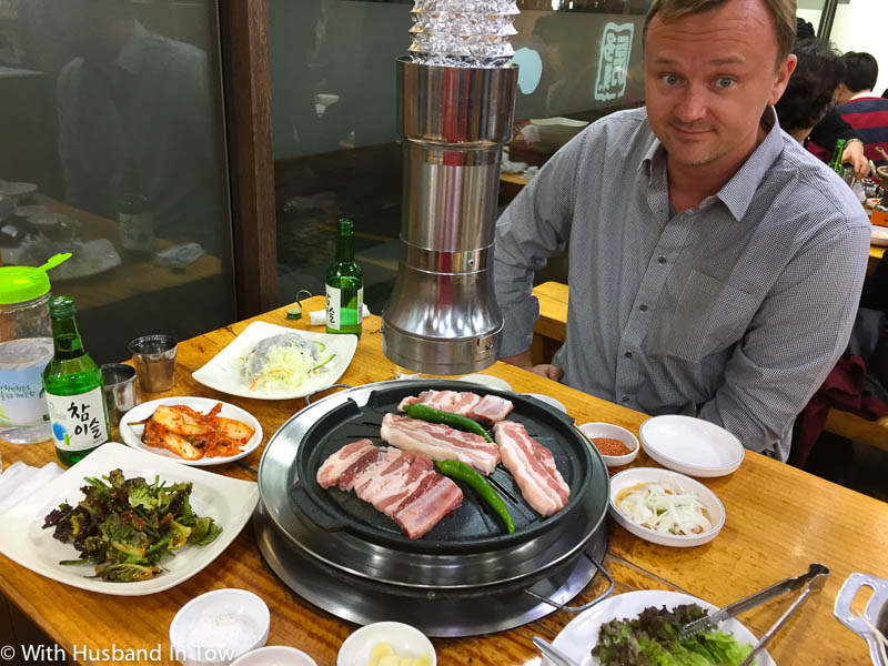 Korean BBQ in Seoul