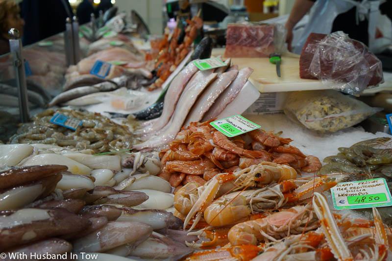 seafood at modena mercato albinelli