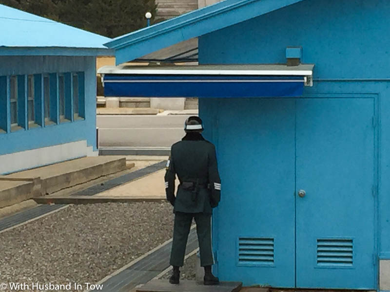 Korean soldier at DMZ Tour