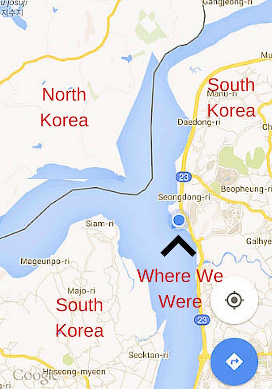 Korea DMZ Map