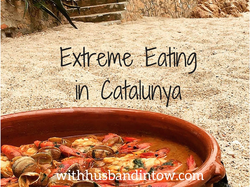Eating in Catalunya