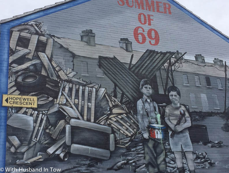 Northern Ireland Murals in Belfast