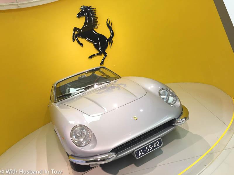 Touring the Ferrari Museum in Maranello