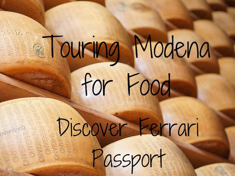 Touring Modena in Emilia Romagna with Discover Ferrari