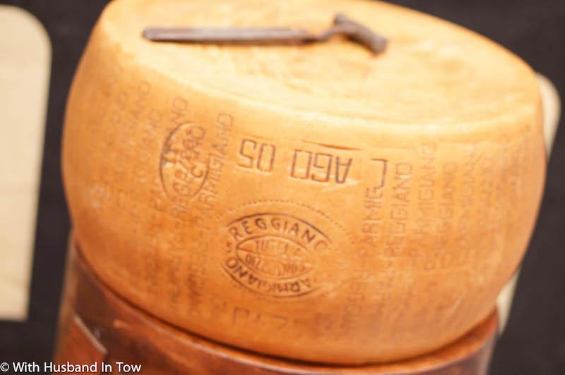 Italian aged cheese at Caseificio 4 Madonne with Discover Ferrari